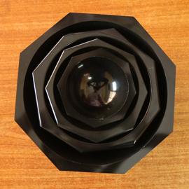 Agate Mortar Pestle Black