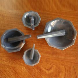 Agate mortar & Pestle (Grey)