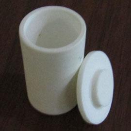 Alumina Cylindrical Shape Crucibles